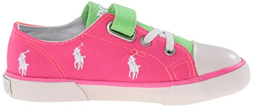 Polo Ralph Lauren Kody, Baskets Basses mixte enfant Multicolore - Mehrfarbig (summer melon/pink/green)