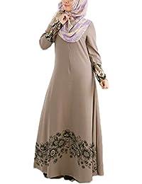 Hellowarm Falda Larga de Que Suelta musulmán de Las Mujeres