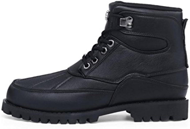Zapatos de Hombre 2018 New Fall/Winter para Hombre Martin Boots Cómodo de Gran Tamaño Botas Antideslizantes/Cálidas...