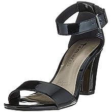 Tamaris 1-1-28018-24, Women's Ankle-Strap, Black (Black Patent 018), 3.5 UK (36 EU)
