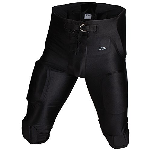 "Active Athletics ""All In One Gamehose Spandex 7 Pads, Football Padded Pant - schwarz XL"