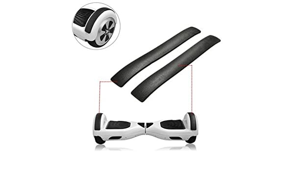 2pcs Bumper Strips for 6.5 Inch Self Balancing Electric Scooter Outer Shell DIY