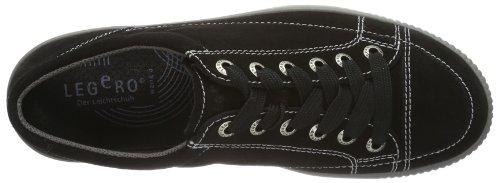 Legero Tanaro, Sneaker donna Beige beige Nero (Schwarz (schwarz 00))