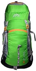 Mount Track Gear Up Rucksack, Hiking Backpack 60 Ltrs Green