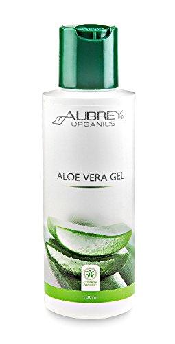 Aubrey Gel d'aloé vera bio 100 % 118 ml