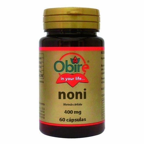 Noni (Morinda citrifolia) 400 Mg 60 Gelatinekapseln - Antiseptisch natürlich - Antioxidierend