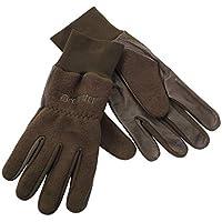 Deerhunter Fleece Handschuhe m. Leder 8761, DH 376 Art Green