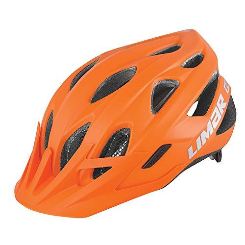 Limar Fahrradhelm 545 Gr.M 52-57cm matt orange ca. 285g Fahrrad