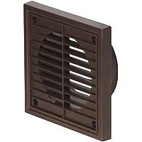 Flujo de aire fg150-br 52641109fijo parrilla, color marrón, 150mm