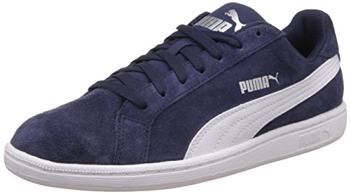 Produktbild Puma Unisex-Erwachsene Smashsd Sneaker,  Blau (Peacoat-Puma White),  45 EU