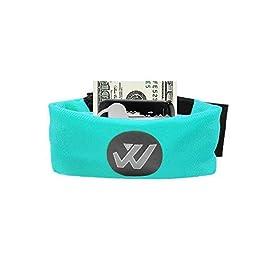 Wwin Sport Wristband Portafoglio Adatto per Uomo Donna Multi Colored Wrist Bracciale identificabile Running Fitness all Sports