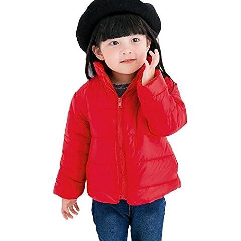 Koly Niños invierno cálida chaqueta Cotton-padded capa Buki Outwear