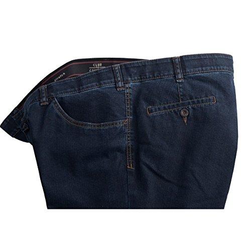 Club of Comfort dunkelblaue Jeans Liam Übergröße Blau