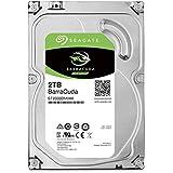 Seagate 2 TB BarraCuda 3.5 Inch Internal Hard Drive (7200 RPM, 256 MB Cache, SATA 6 Gb/s, Up to 220 MB/s, Model: ST2000DMZ08/DM008)
