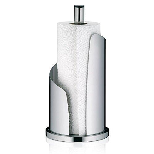 Kela Küchenrollenhalter Edelstahl hochglanz, Ø 15 cm, STELLA, finger print proof