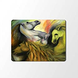 Mouse Pad | Animal Print Designer Mouse Pad | High Quality Waterproof Coating Gaming Mouse Pad with Black Base