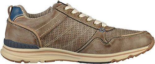 Dockers by Gerli 42mo003-600380, Sneakers Basses Homme Marron (Dunkelbraun 380)