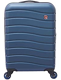 Swiss Gear ABS 76.5 cms Blue Hardsided Check-in Luggage (7790343175)