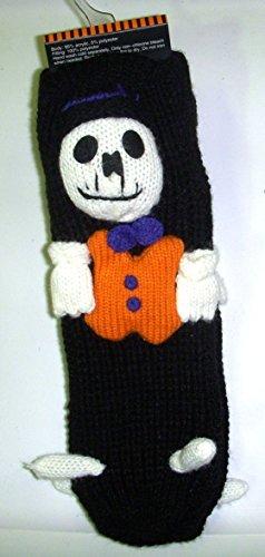 skeleton-slipper-socks-halloween-child-socks-osfm-nwt