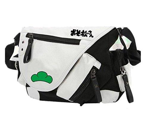 Yoyoshome giapponese anime Cosplay zaino tracolla borsa messenger a tracolla nero Guilty Crown Osomatsu kun