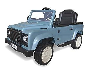 Land Rover KAP231 Defender - Pedal para Montar en el vehículo, Color Azul