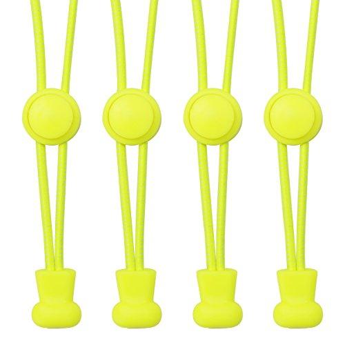 2 Paar Schleifenloses Schnellschnürsystem, Elastische Schnürsenkel für Kinder & Erwachsene, einfach zu benutzen, dehnbar, 100cm - Not Just A Gadget