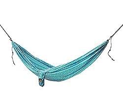 Grand Trunk Double Parachute Nylon Hammock Prints, Yam, One Size