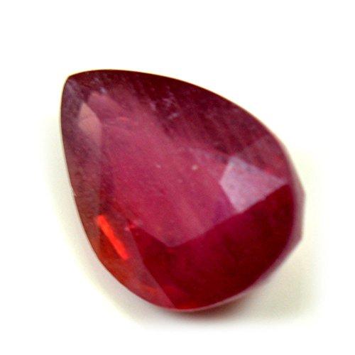 GemsOnClick 3.95Karat natürlicher Rubin lose Edelstein Heilung Geburtsstein Juli für Jewelry AAA + Qualität Pink - Rubin Edelsteine Lose