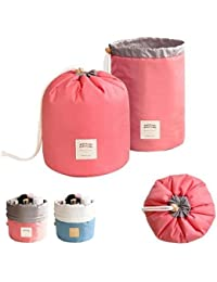 Waterproof Travel Dresser Bucket Barrel Shaped Cosmetic Makeup Bag Pouch Buy 1 Get 1 FREE !!!