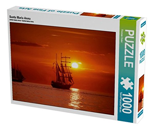 Santa Maria Anna 1000 Teile Puzzle quer (CALVENDO Mobilitaet)