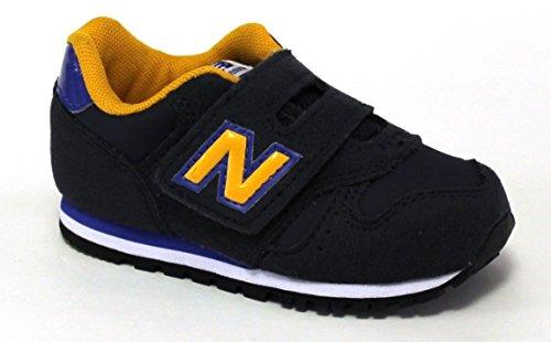 New Balance KV373Z1I Sneakers Garçon Cuir Synthetique Bleu/jaune Bleu