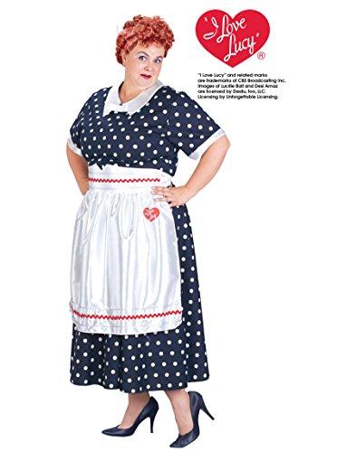 Fun World 17703 I Love Lucy Classic Plus Kost-m Gr--e Plus-