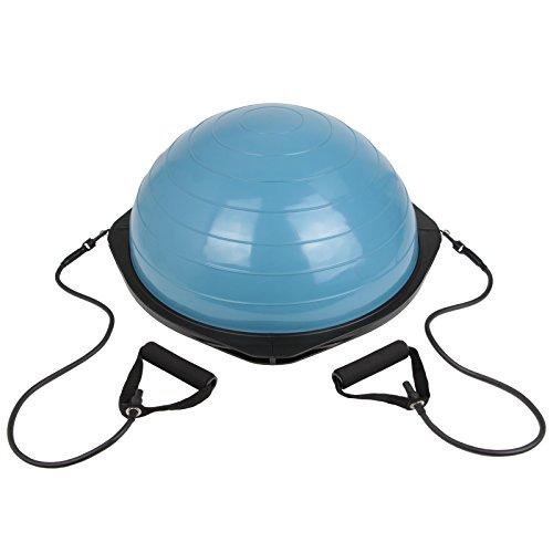 BB Sport Balance Ball mit Expander & Pumpe Gymnastikball mit Zugbändern