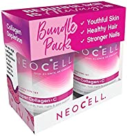 Neocell Super Collagen Plus C, Type 1 and 3, 6000 mg + 250 Tablets (Pack of 2)