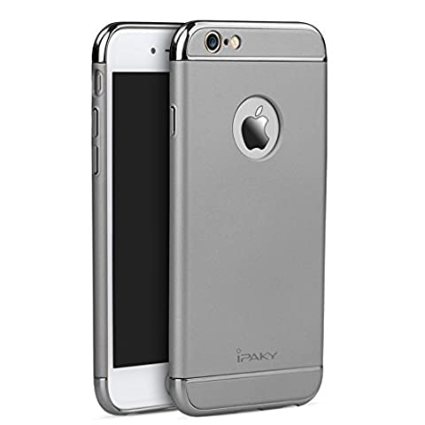 Coque IPAKY rigide pour iPhone 6 Plus / 6S Plus - Gris