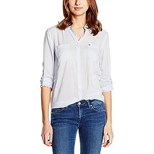 Hilfiger Denim Original lightweight shirt l/s, Camisa para mujeres Regular Fit