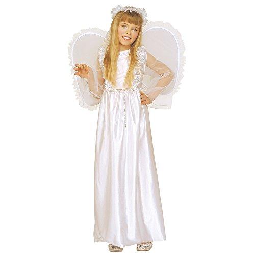 Widmann 33457 Kinderkostüm Engel, Kleid, Flügel und Heiligenschein (Heiligen Kostüm Ideen Für Kinder)