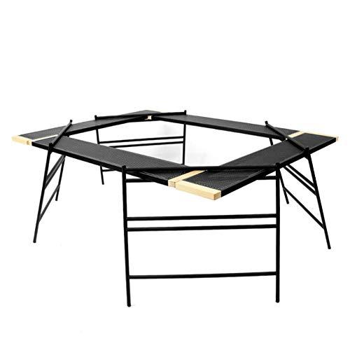XINGUANG Table De Barbecue en Plein Air Pliante Multifonctions Portable Table De Pique-Nique Portable Tabouret