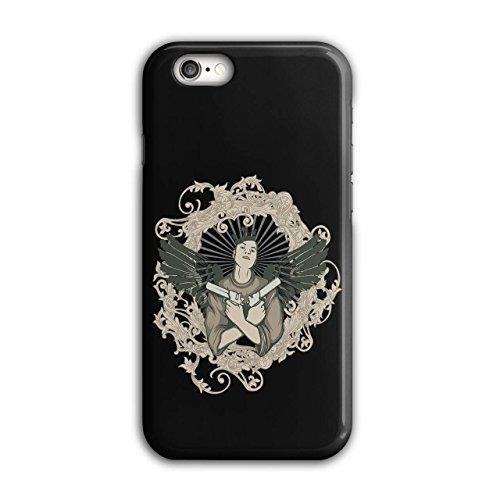 Mädchen Mit Guns Gangster Hölle Flügel iPhone 6 / 6S Hülle | (Gun Kostüm Geschichten)