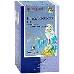 Sonnentor Bio Kräuterteemischung Hildegard Entspannungstee- 18 Beutel (18 x 1g)