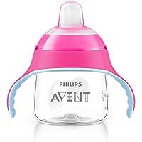 Philips Avent - Vaso con boquilla blanda, diseño pingüino