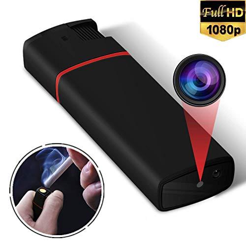 feuerzeug mit kamera Mini Kamera,Yilutong HD 1080P Tragbare Kleine Überwachungskamera, Mikro Nanny Cam mit Infrarot Nachtsicht, Compact Sicherheit Kamera für Innen und Aussen(unterstützung 32G SD Karte, Nicht INKLUSIVE)