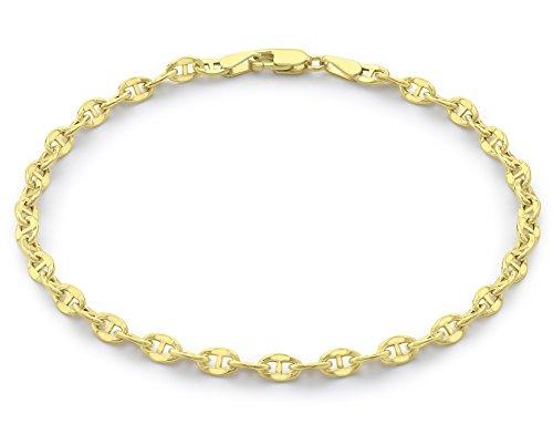 Carissima Gold Pulsera de unisex con oro amarillo de 9 quilates (375/1000),...