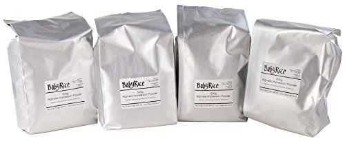 BabyRice Herculite II Casting Plaster for Moulds Material Powder just add Water 1kg