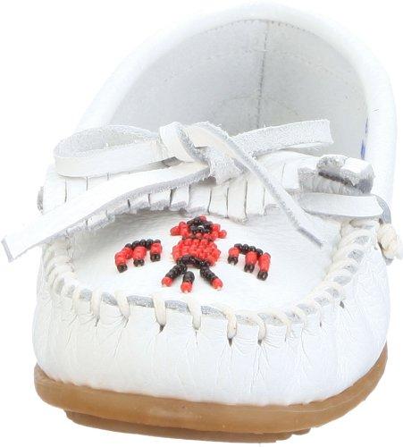 Minnetonka Thunderbird II 60 Damen Mokassins Weiß (White 4)