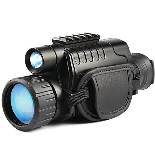 TOOGOO Monocular Infrarrojo de VisióN Nocturna 5X40 Zoom Gafas de VisióN Nocturna 200M Distancia ObservacióN Nocturna ObservacióN y DíA de Caza Digital IR