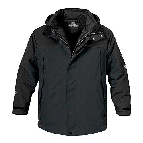 Stormtech Mens 5 in 1 Performance Thermal Winter Parka Coat Jacket Black