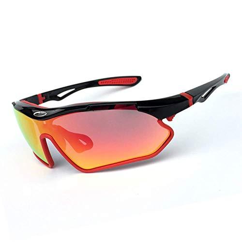 SCJ Radfahren Brille Männer und Frauen Fahren Brillen Sonnenbrillen Outdoor-Sport Angeln Golf Laufbrille Nachtsichtbrille Anti-UV
