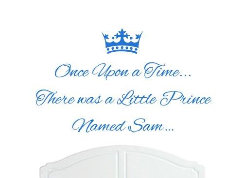 Once Upon a Time Prince Sam grands stickers muraux/autocollant Chambre Art/garçon bébé – Choix de couleurs