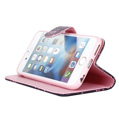 hyait® for iPhone 6/6S (4.7Zoll) Case Flip Leather Wallet With Card Holder and Kickstand Case Cover zmd12 ZMD01
